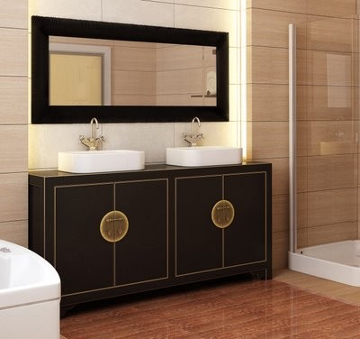 Asian vanity for Bathroom designs japanese style