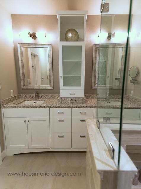 Aspen master bath contemporary bathroom dc metro for Haus interior design