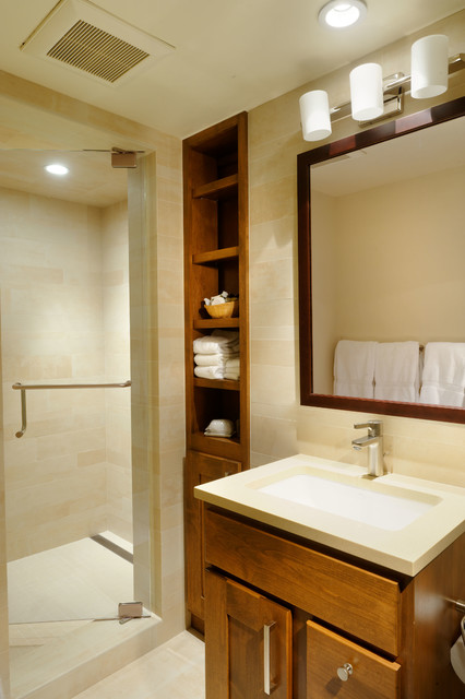 Aspen Square contemporary-bathroom