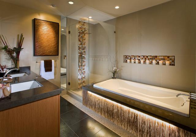 Astoria Master Bathroom Contemporary Bathroom Orange County By International Custom Designs