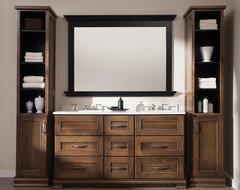 At-Home Retreat Dual Sink Bathroom Vanity traditional-bathroom
