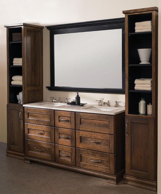 Dura Supreme Cabinetry: At-Home Retreat Dual Sink Bathroom Vanity