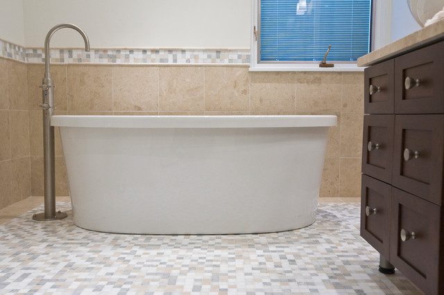 At Home Spa, an award winning design contemporary-bathroom