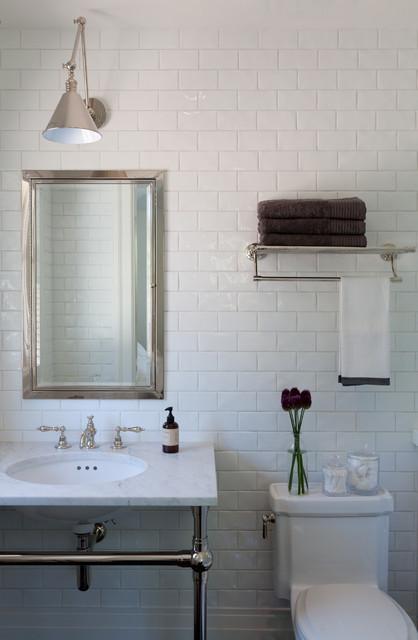 Vintage Contemporary Bathroom by Kathryn MacDonald Photography u Web Marketing