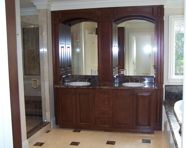 Atherton Estate Residence traditional-bathroom