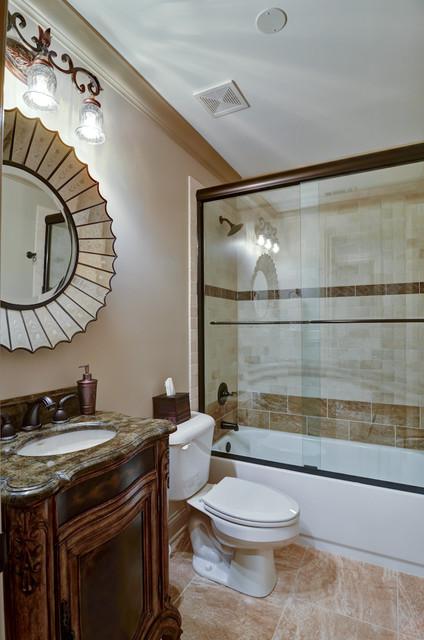Atlanta Basement Design/Build traditional-bathroom