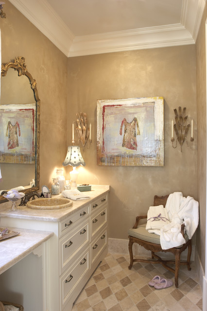 Atlanta Christmas Show House - Girls Bedroom & Bath traditional-bathroom