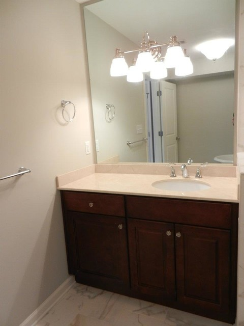 Atlanta condo renovation traditional bathroom Bathroom design centers atlanta