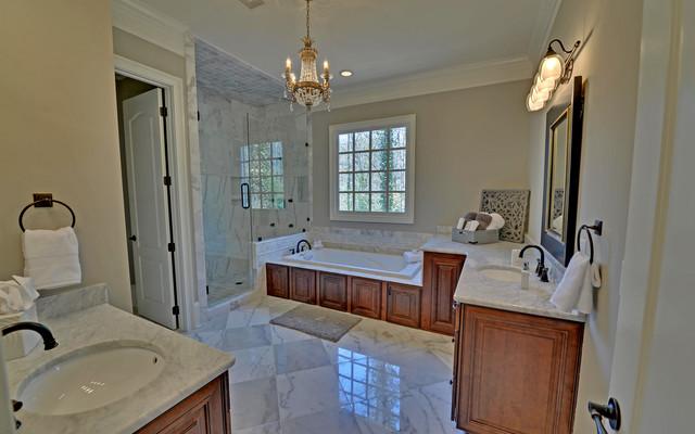 Atlanta georgia custom homes traditional bathroom for Atlanta custom home builders