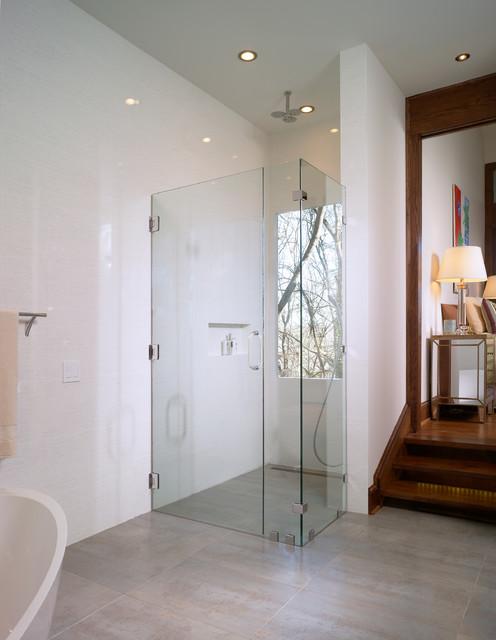 Atlanta Master Bathroom Suite Remodel Contemporary