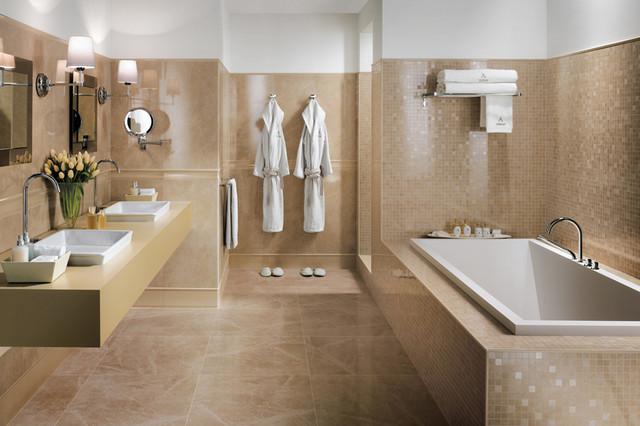 Atlas Concorde Tile Contemporary Bathroom