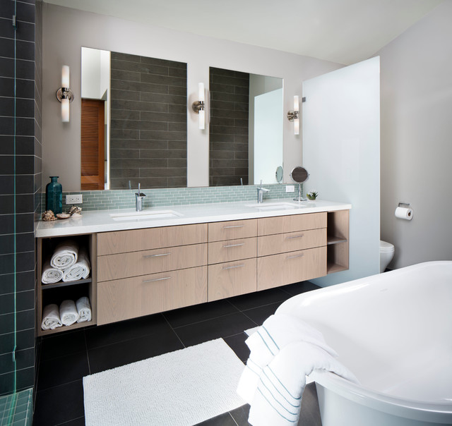 Atomic Ranch Contemporary Bathroom San Diego By Kw