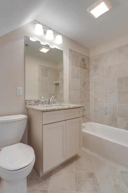Attic bath traditional bathroom dc metro by for Accents salon bellingham
