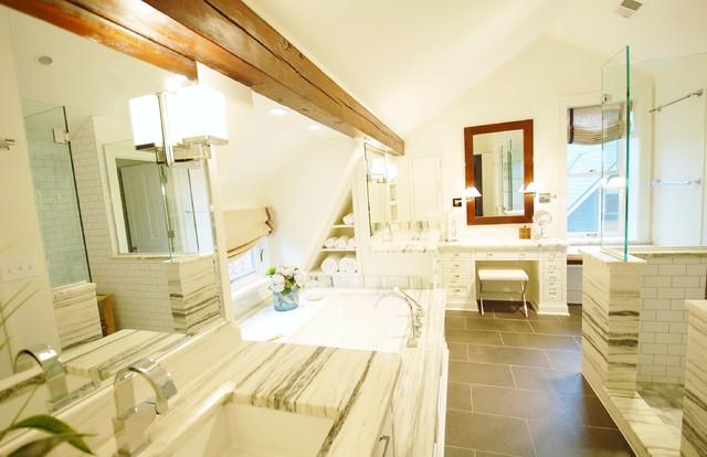 Attic Bath Remodel traditional-bathroom