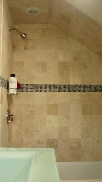 Attic bathroom mediterranean-bathroom