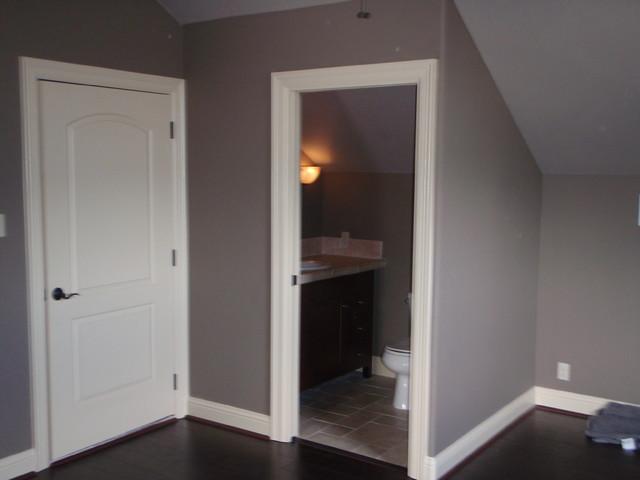 Attic Bedroom Conversion traditional-bathroom