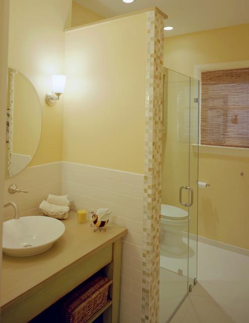 Attic Conversion to Bedroom traditional-bathroom