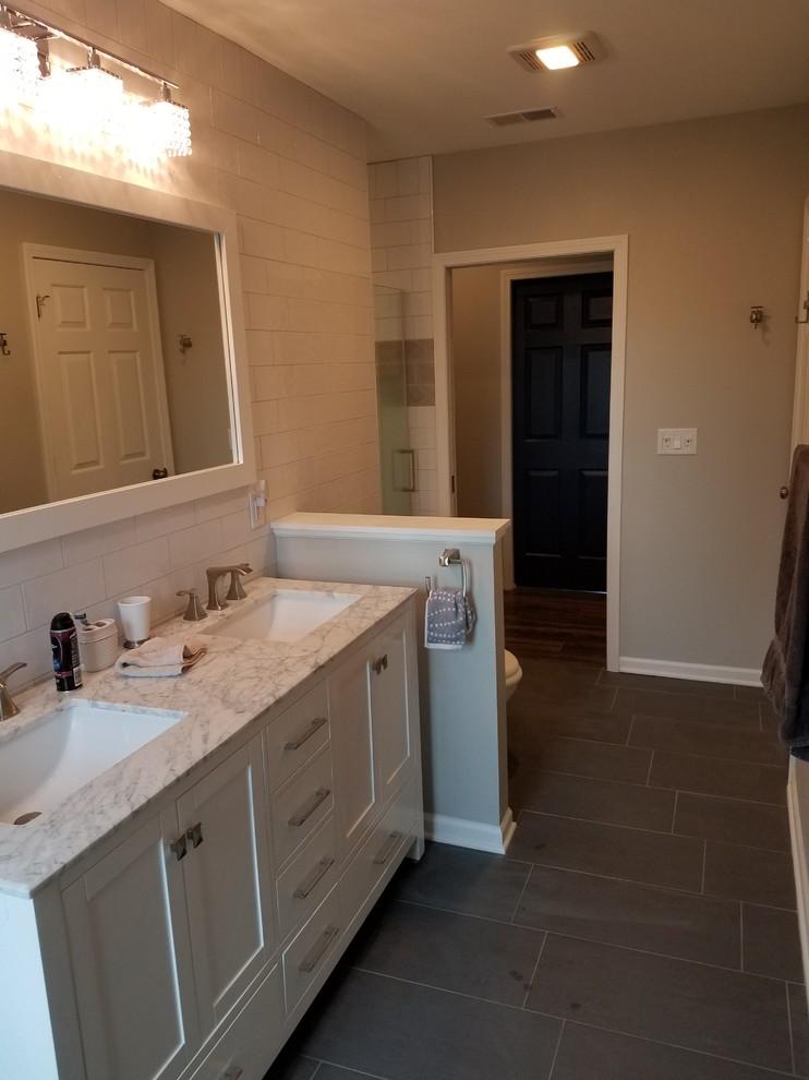 Attic Renovation - Contemporary - Bathroom - Milwaukee ...
