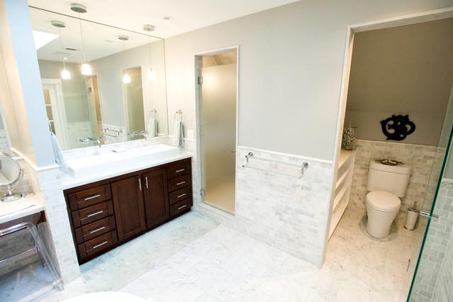 Attic Space Contemporary Bathroom Toronto By