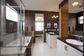 Auburn shores the arniston modern bathroom calgary for 1915 bathroom photos