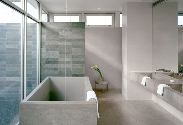 Audrey Matlock Architect modern bathroom