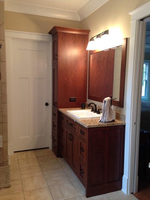 Augusta ga craftsman style bathroom craftsman for Bath remodel augusta ga