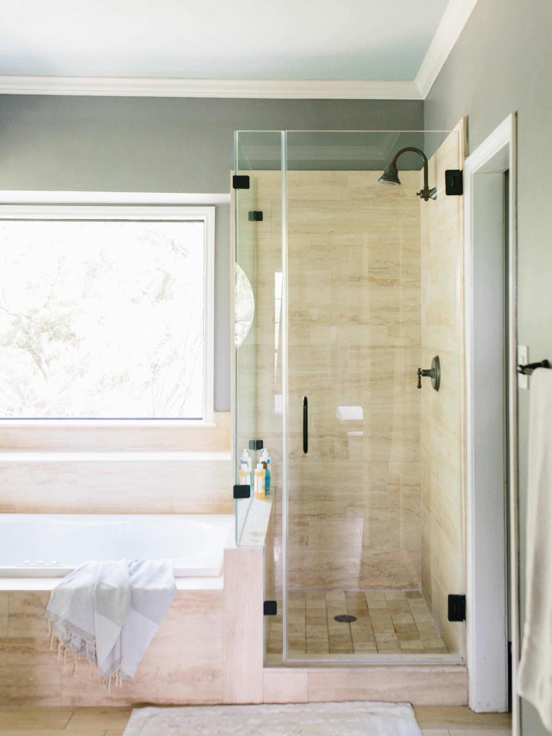 Piastrelle Bianche Diamantate Bagno bagno classico con pavimento alla veneziana - foto, idee