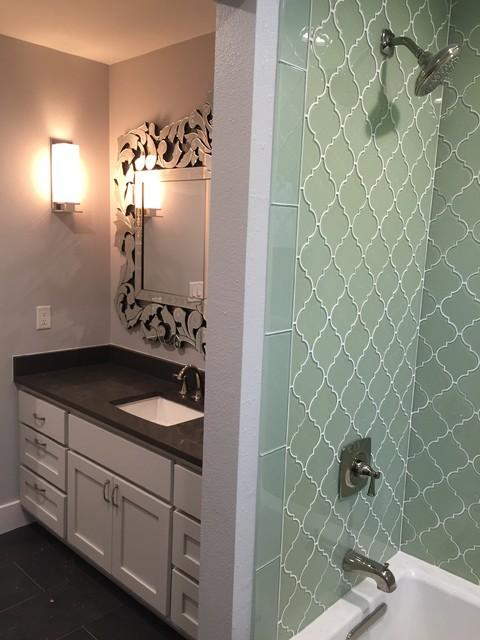 Bathroom - transitional bathroom idea in Austin
