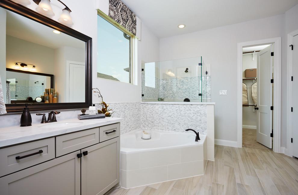 Austin, Texas   Carmel - Premier Rosewood Master Bathroom ...