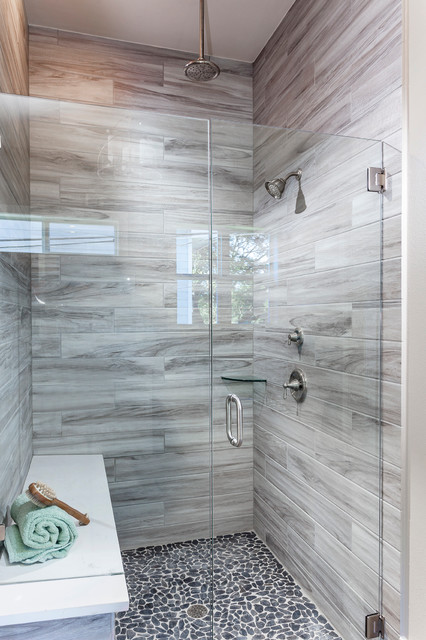 Austin Texas Contemporary Farmhouse Country Bathroom Austin By Cerulean Concepts