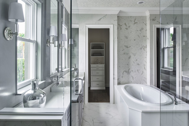 Austin Transitional Bathroom Austin By Tina Marie Interior Design