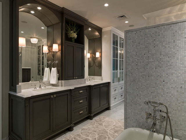 Gabinetes Para Baño St Paul:Luxury Condo Bathroom Design
