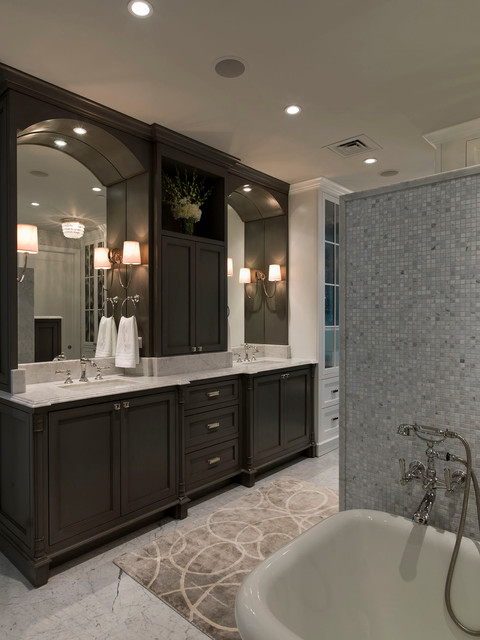 Austonian Luxury Condo Contemporary Bathroom Austin