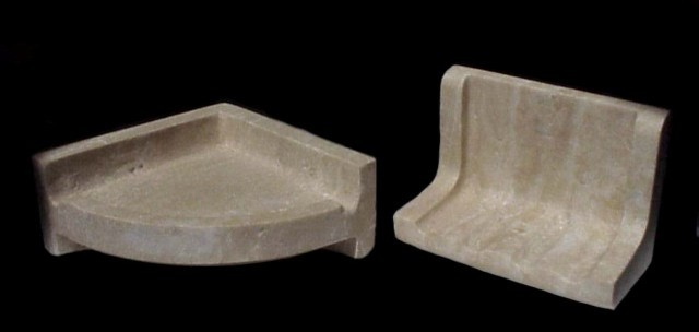 Authentic Durango Stone™ Custom Soap Dish Traditional Bathroom
