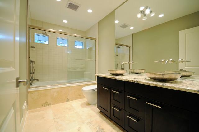 Award winning britannia bungalow contemporary bathroom for Award winning bathrooms
