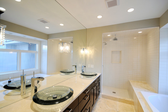 Award Winning Britannia Bungalow modern-bathroom
