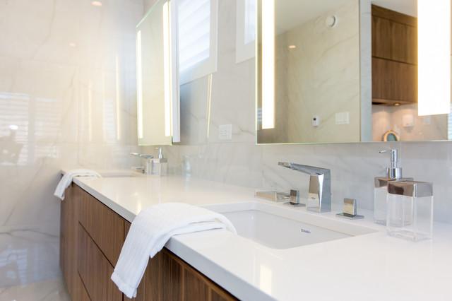 Award Winning Design - The Grandview by Van Arbor Homes contemporary-bathroom