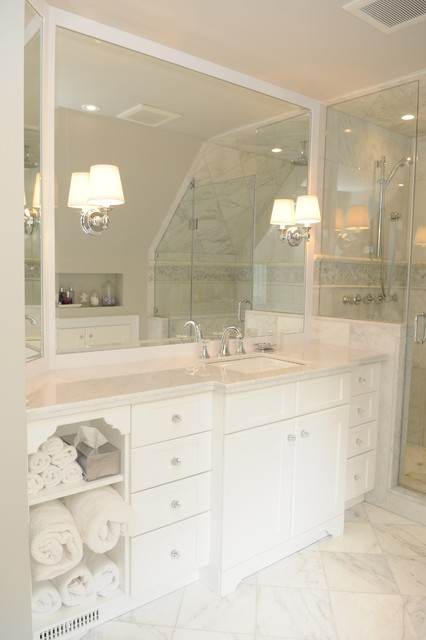 Award Winning Ensuite Traditional Bathroom Toronto By Anderson Balfour Kitchen Design Inc