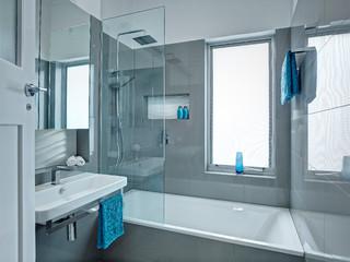 Award Winning Futuristic Bathroom Design Modern