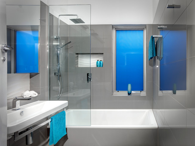 award-winning futuristic bathroom design - modern - bathroom