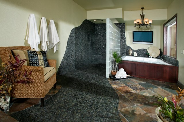 Award winning master bathroom suite by shasta smith for Award winning bathroom designs pictures of