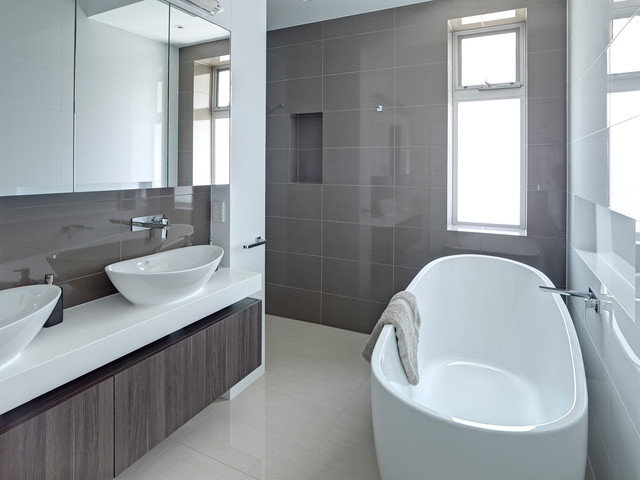 Award Winning Small Bathroom Design Contemporary Bathroom Adelaide By Brilliant Sa