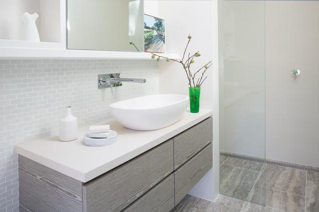 Ayres Road contemporary-bathroom