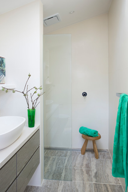 Ayres Road contemporary-bathroom