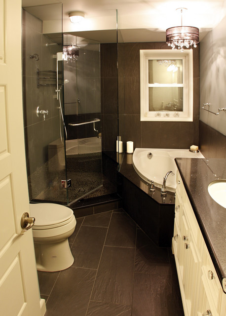 b-w Bathroom contemporary-bathroom