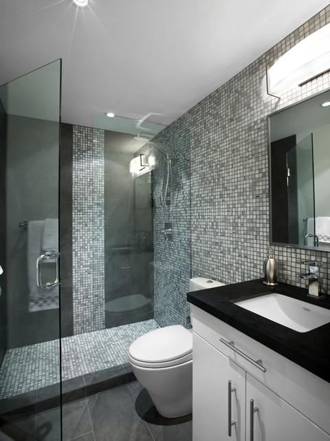 Bachelor on 6th contemporary bathroom other by for Bachelor bathroom ideas