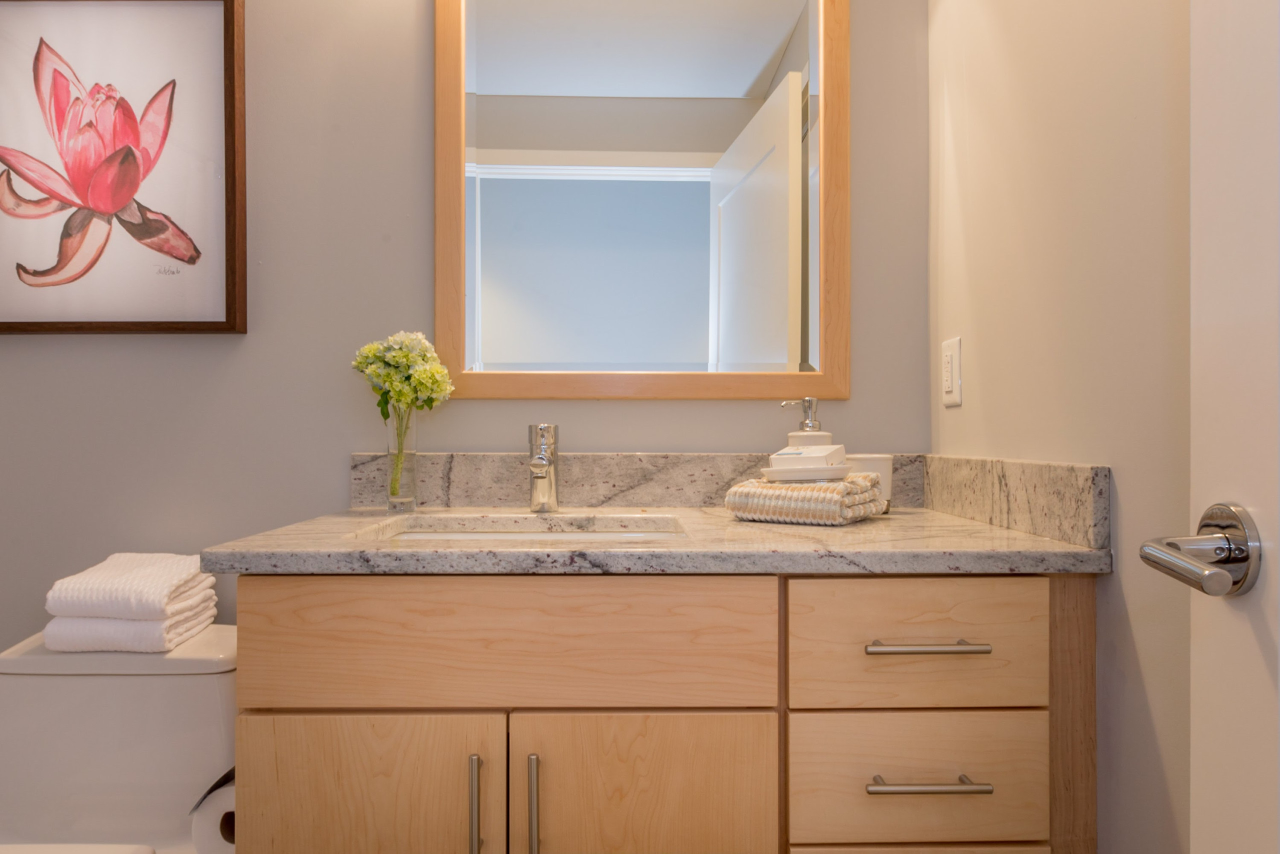 Bachelor Pad Urban Condo Staging in Portland ME