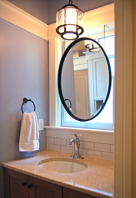 Backlit mirror traditional bathroom louisville by one world architecture for Bathroom mirrors louisville ky