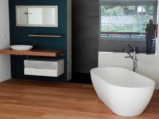 Badeloft Freestanding Bathtub 'BW-02-XL' UPC Certified StoneResin Matte or Gloss - Modern ...