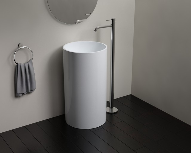 Badeloft Sinks - Freestanding - Stone Resin - Modern - Bathroom ...